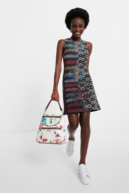 Slim mandalas dress