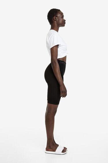 Legging cycliste taille élastique | Desigual