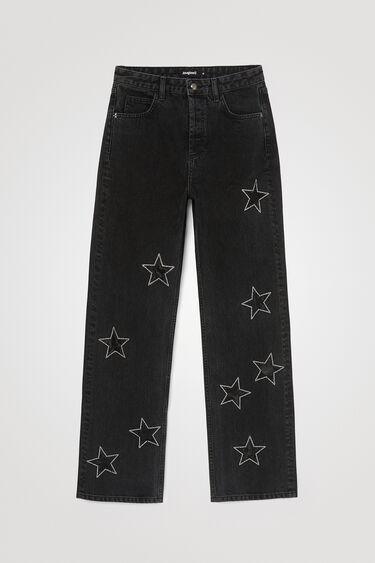 Jean slim étoiles glitter | Desigual
