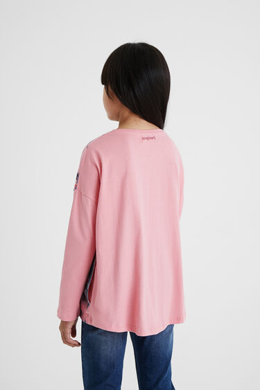 Oversize floral T-shirt | Desigual