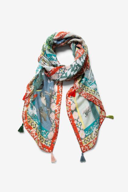 Foulard oriental patch effect