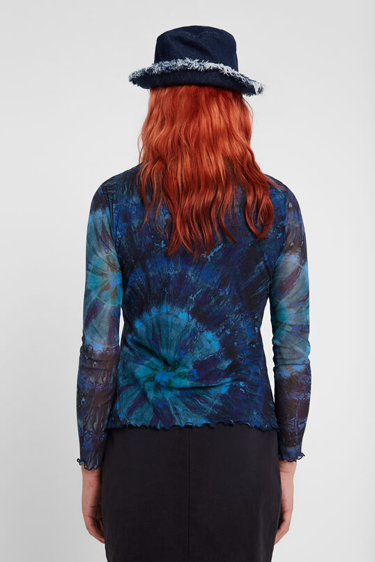 Slim tie dye viscose T-shirt | Desigual