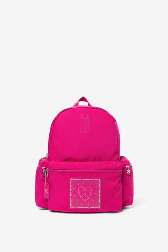 Red backpack Colors OSS