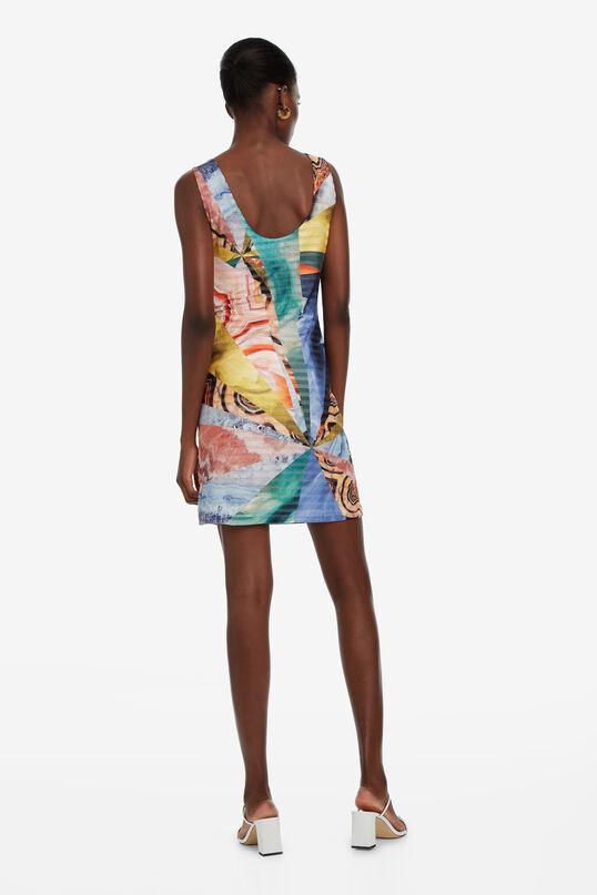 Abstract Short Dress Minerva | Desigual