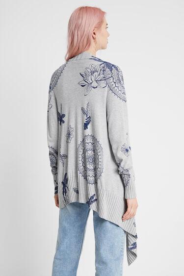 Pull veste libellules | Desigual