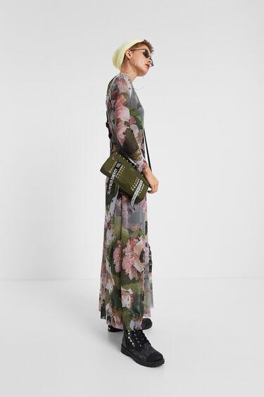 Robe longue à fleurs | Desigual