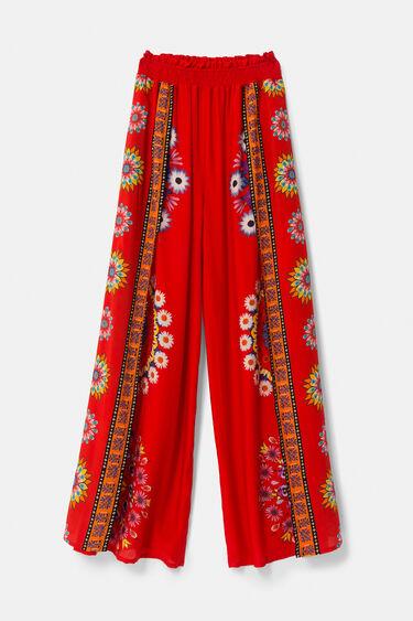 Pantalons palazzo eco mandales florals | Desigual