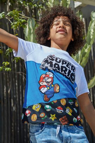 Maglietta Super Mario