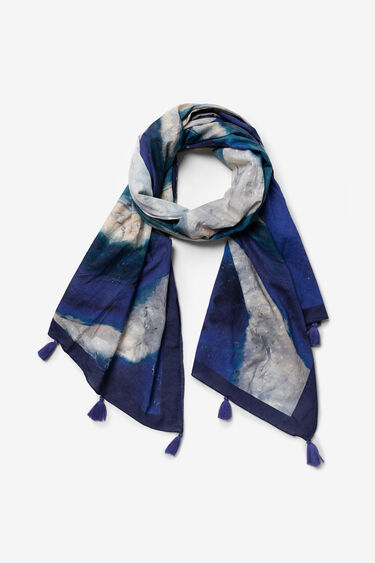 Fulard estampat artístic   Desigual
