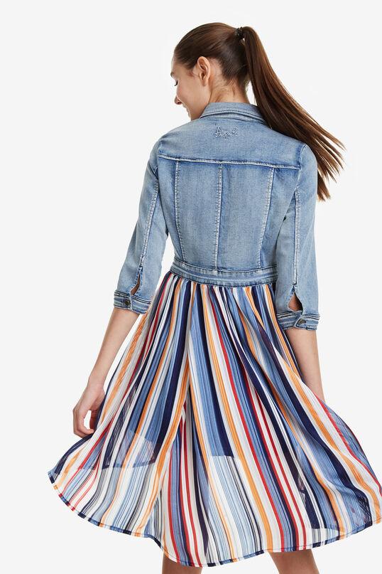 Mismatched Dress Ruffle | Desigual