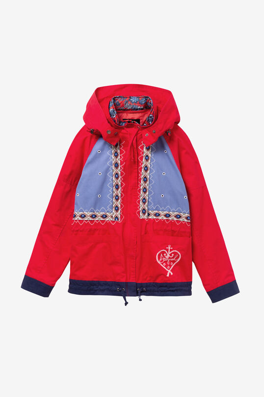 Jacket with removable hood Lena | Desigual