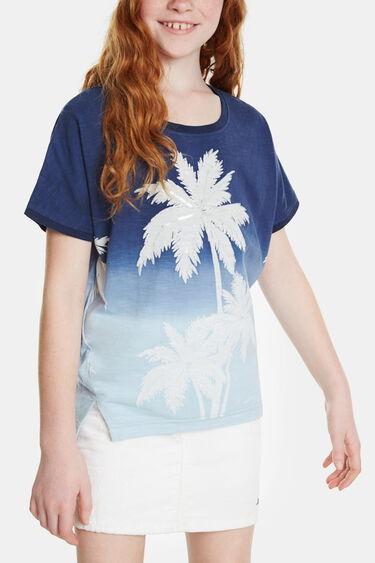 Camiseta estampado palmeras | Desigual