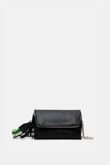 Crossbody bag embossed logo | Desigual