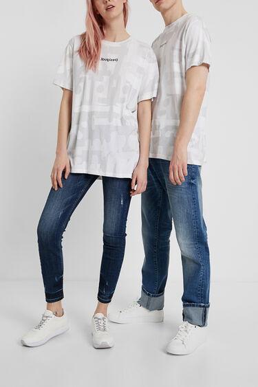 T-shirt camouflage no gender | Desigual