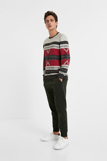 Knit jumper friezes | Desigual