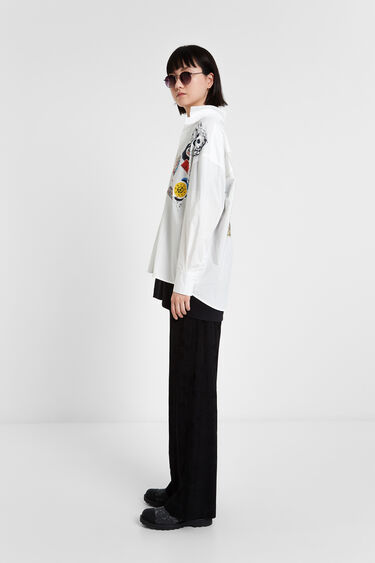 Arty patches blouse   Desigual