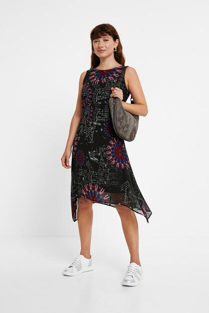Asymmetric galactic dress