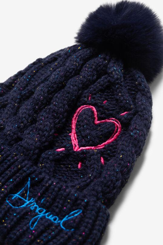 Bonnet en laine pompon | Desigual