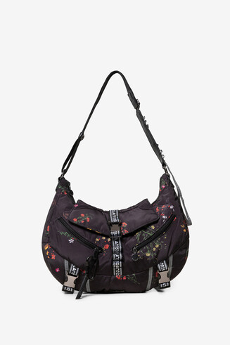 Floral snap hook bag