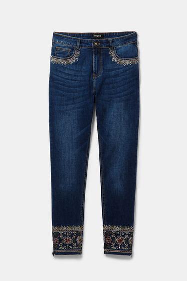 Skinny exotic jeans | Desigual