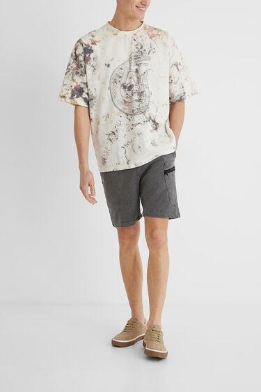 T-shirt oversize tie-dye | Desigual