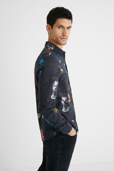 Camisa algodón estampado arty | Desigual