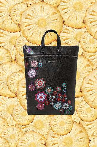 Mandala sequins backpack