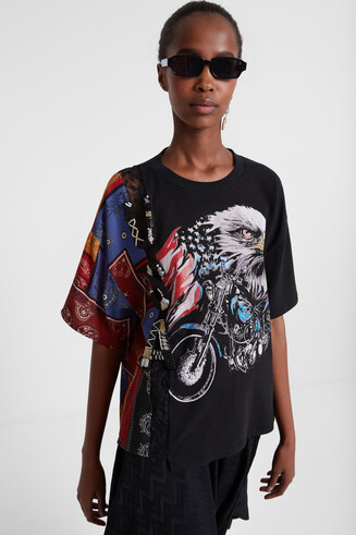 Hybrid USA T-shirt