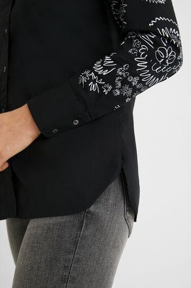 Regular cotton shirt | Desigual