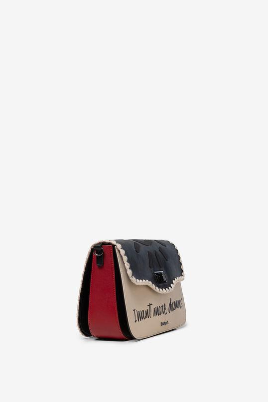 Bolso bandolera solapa corchete | Desigual