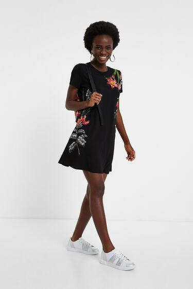 Floral T-shirt dress | Desigual