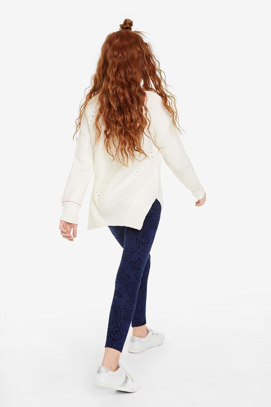 Legging met elastische tailleband | Desigual