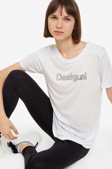 T-shirt de sport gris Essentials tee | Desigual