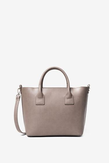 Small two-tone bag | Desigual