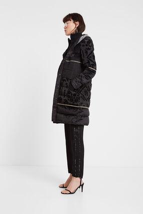 Boho padded coat