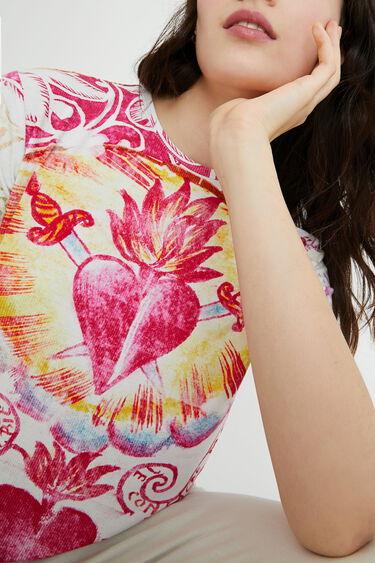 T-shirt short sleeve heart | Desigual