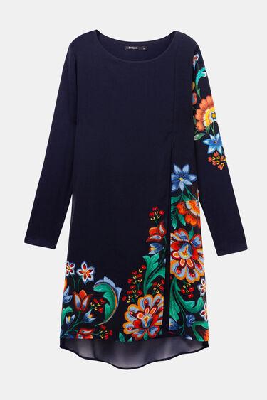 Robe multicouches fleurie   Desigual