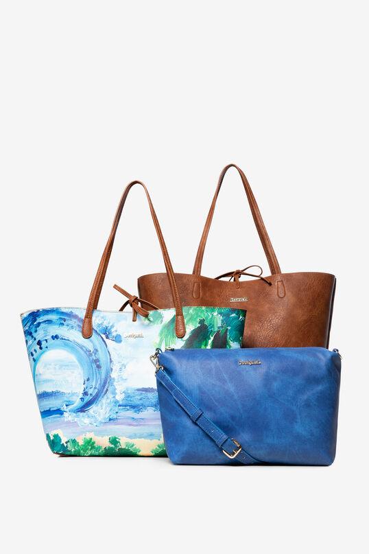 Reversible Tropical Bag Capri | Desigual