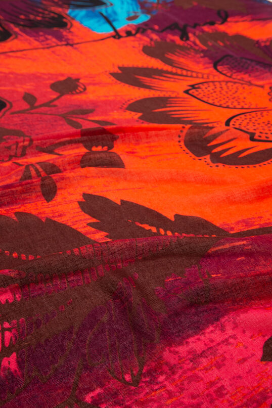 Foulard rectangular floral | Desigual