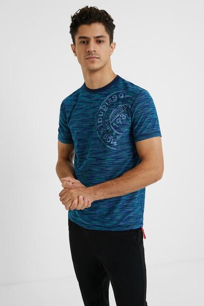 Jacquard print T-shirt