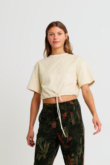 100%コットン 半袖Tシャツ | Desigual