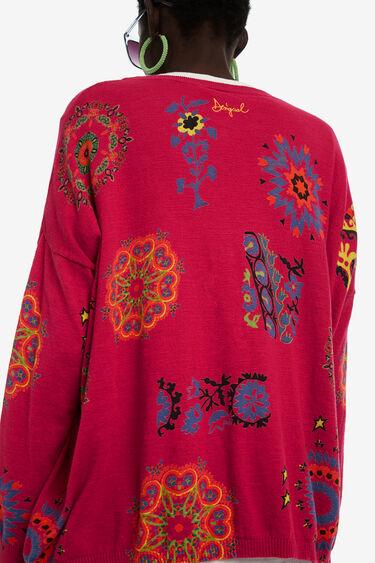 Sweter z cienkiej bawełny | Desigual