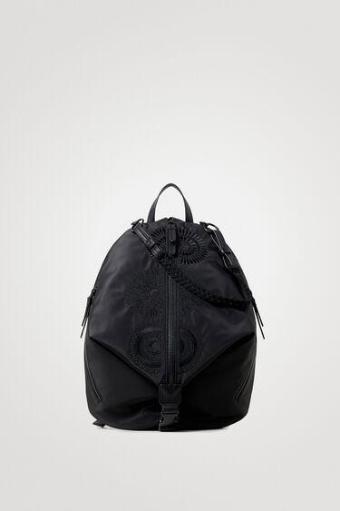 Nylon backpack mandalas | Desigual