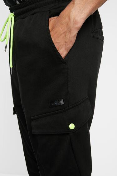 Slim jogging trousers cargo | Desigual