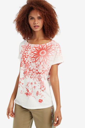 T-shirt 100 % coton Blooming