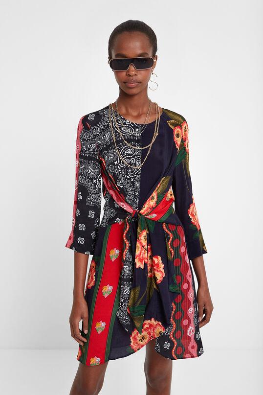 Robe fleurie ruban | Desigual