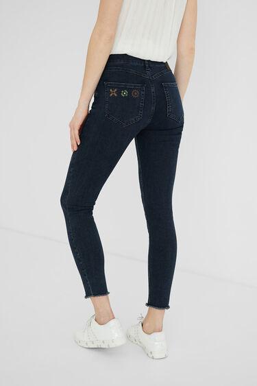 Skinny fit enkeljeans | Desigual