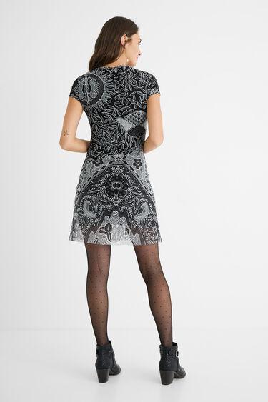Multilayer ethnic dress | Desigual