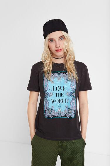 LOVE THE WORLD T-shirt | Desigual