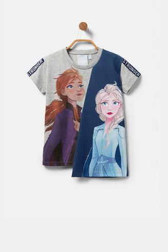 """T-shirt assimétrica """"Frozen 2"""""""